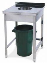 Стол для сбора отходов СРО-3/600/600