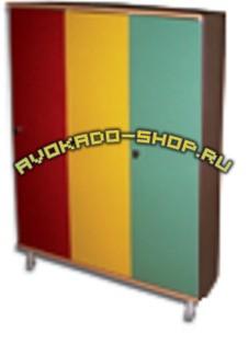 Шкафы для раздевалок ПРАКТИК LS41