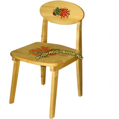 Детский стул хохлома