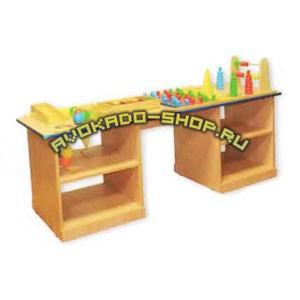 Стол дидактический детский с набором
