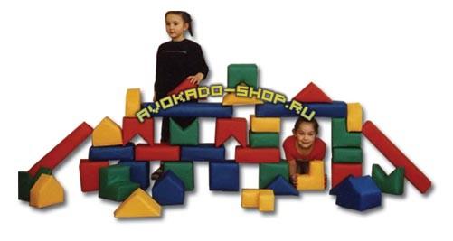 Мягкий детский игровой конструктор